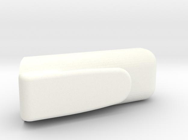 Fitbit Flex Armour - Pocket Clip in White Processed Versatile Plastic