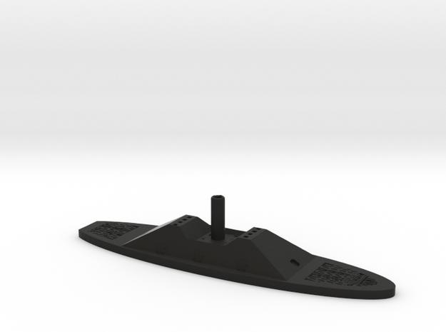 1/600 CSS Fredericksburg in Black Natural Versatile Plastic