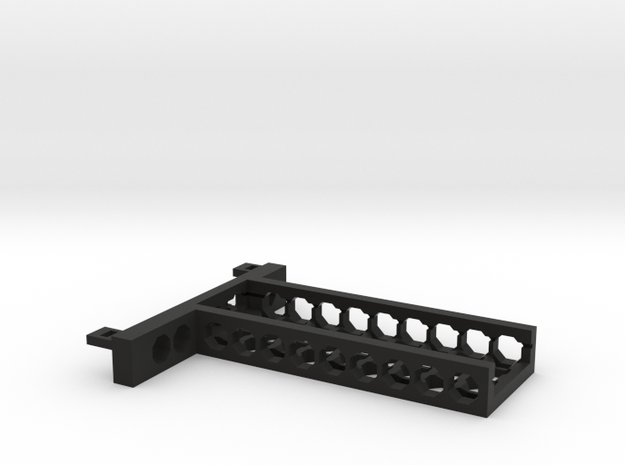 G751 SSD M.2 Bracket With Holes in Black Natural Versatile Plastic