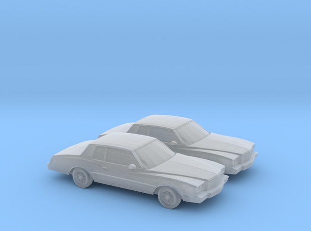 1/160 2X 1980 Chevrolet Monte Carlo in Frosted Ultra Detail