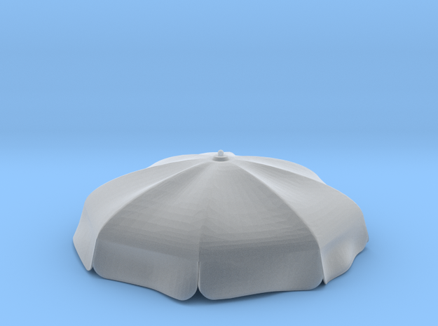 50mm UMBRELLA-no Arms in Smooth Fine Detail Plastic