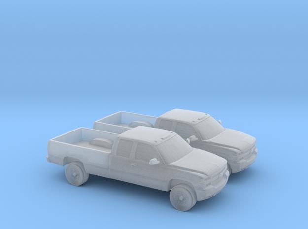 1/160 2X 1999-02 Chevrolet Silverado Duramax Ext.  in Smooth Fine Detail Plastic