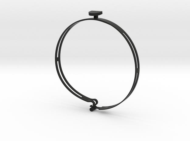 Casanova S (34,5 cm) in Black Natural Versatile Plastic