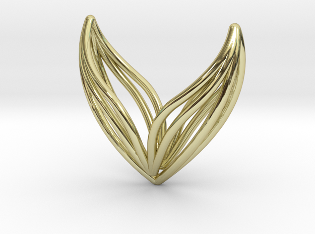 LONELY WINGS W101 in 18k Gold Plated