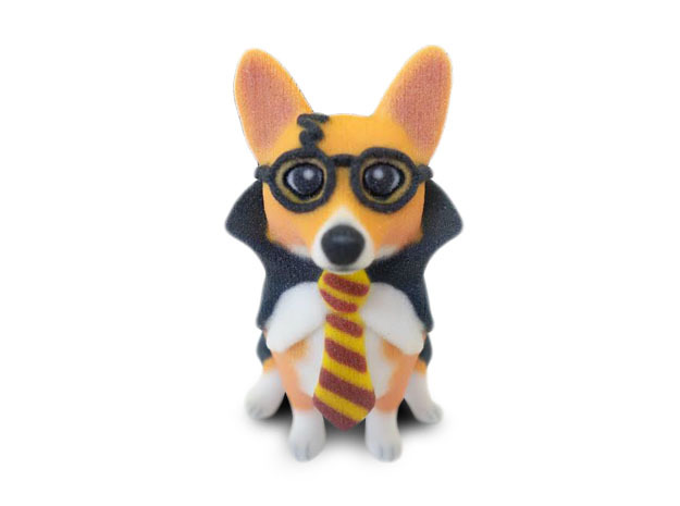 Corgi Potter in Full Color Sandstone