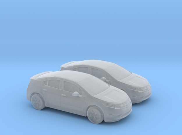 1/160 2X 2013 Chevrolet Volt in Frosted Ultra Detail