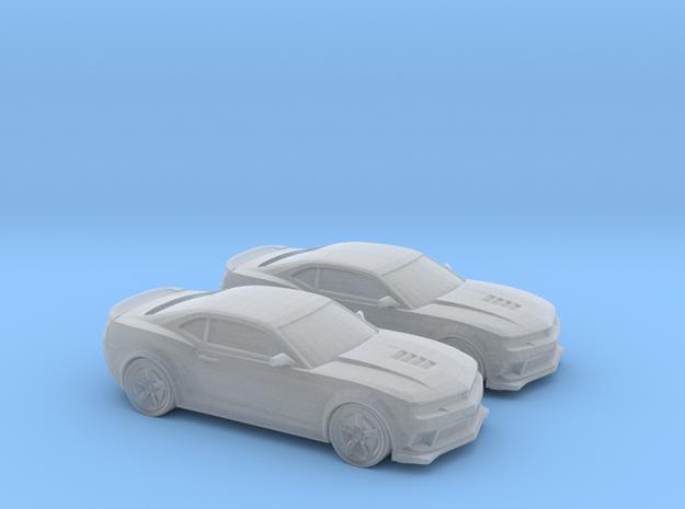 1-160 2X 2014 Chevrolet Camaro  z28 in Smooth Fine Detail Plastic