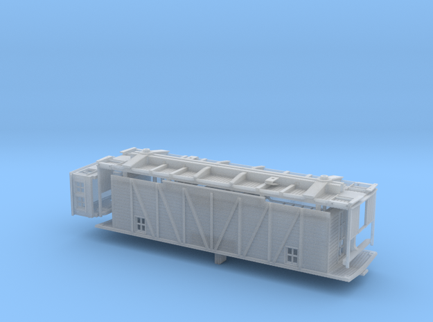 CN Single Sheathed Flanger S scale in Frosted Ultra Detail