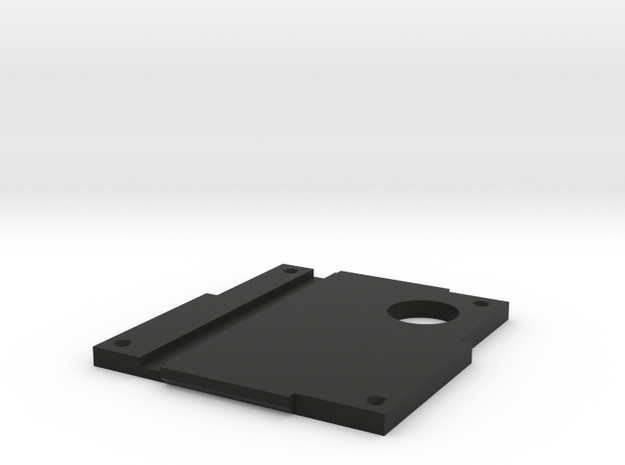 Revi16 Baseplate in Black Natural Versatile Plastic
