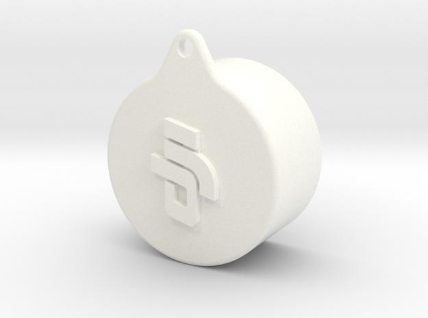 Phantom 3 Lens Cap in White Strong & Flexible Polished