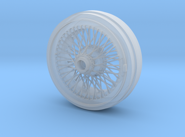 1/8 Wire Wheel Rear, with 72 spokes