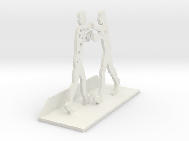 Molecule Man in White Strong & Flexible