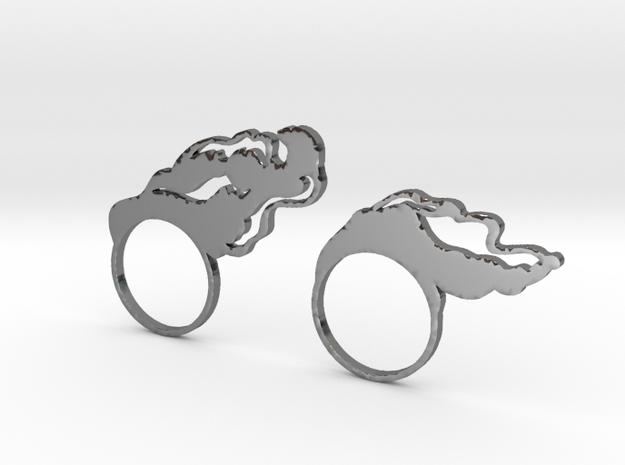 Irisa Metal in Premium Silver