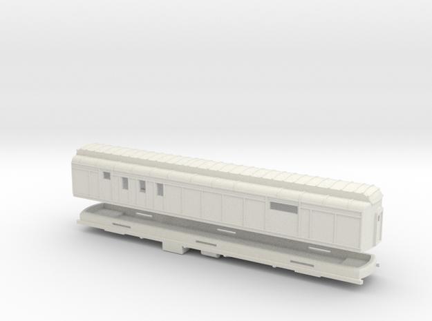 Z Scale Pullman Heavyweight RPO Car 3d printed