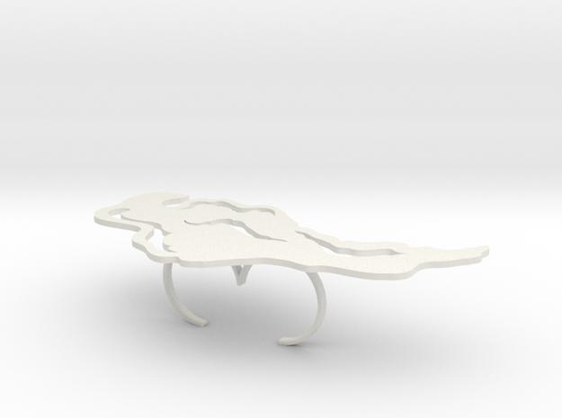 Irisa Double in White Strong & Flexible