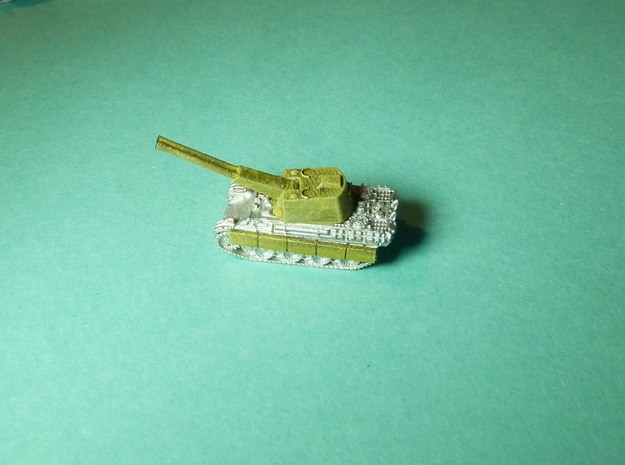 Flakpanther Turret 55mm Twin 1/285 6mm 3d printed