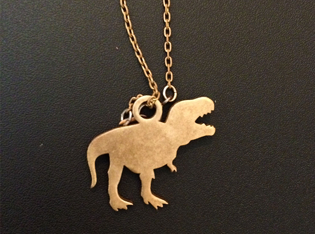 T-Rex Necklace Charm ($4.99 and up) 3d printed