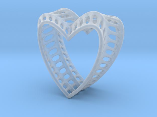 Bony Heart 3d printed