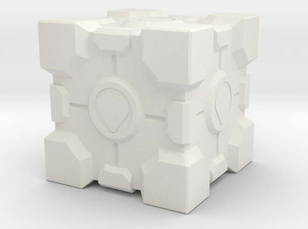 Portal Box in White Natural Versatile Plastic