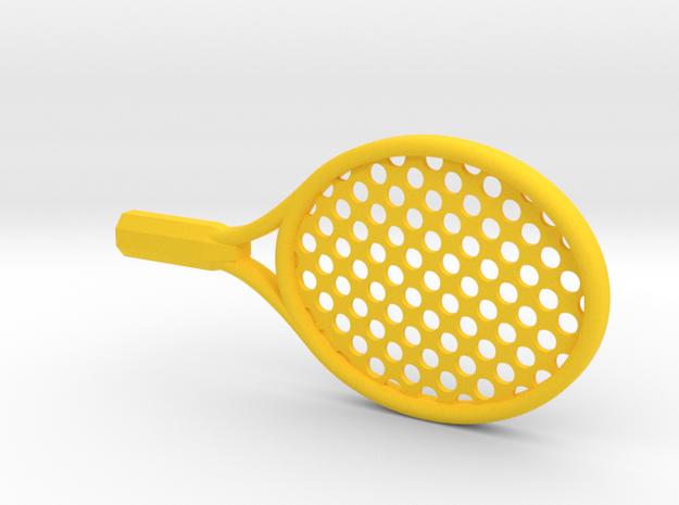 BABY JUNIOR TENNIS RACKET in Yellow Processed Versatile Plastic