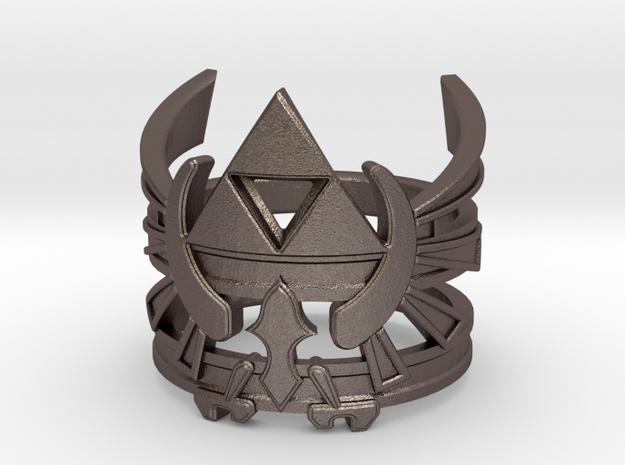 LoZ - Triforce ring - Zelda - medium sizes (15 to