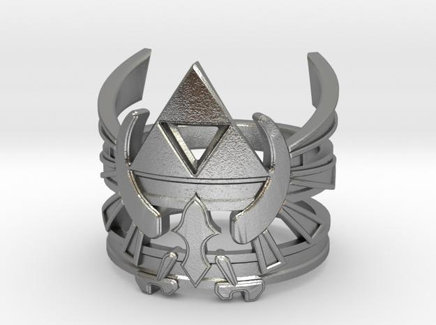 Triforce ring - Zelda - medium sizes (15 to 22)