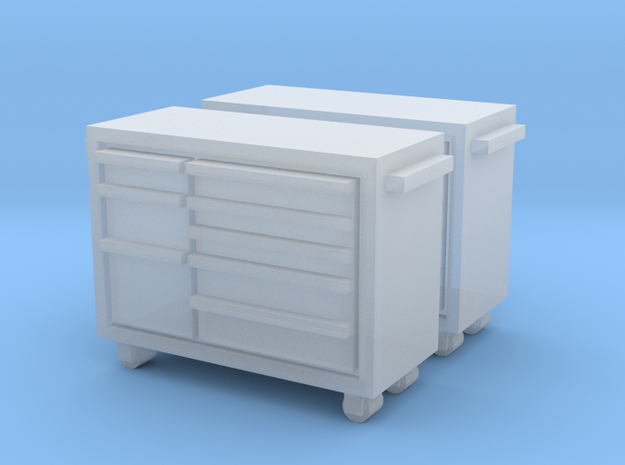 N Scale Snap-on Toolbox 2pc