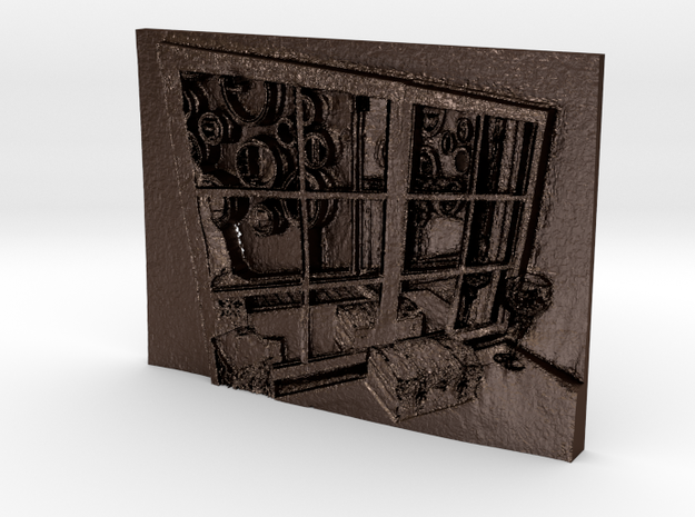 Window Through Time and Space 3d printed