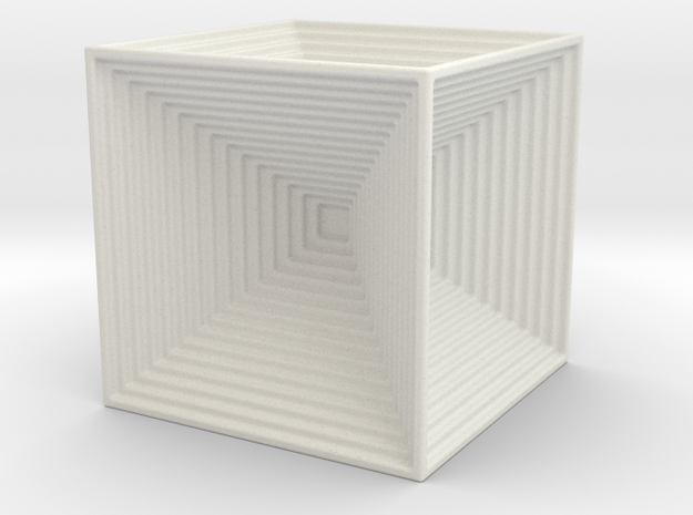 CUBES IN A CUBE in White Strong & Flexible