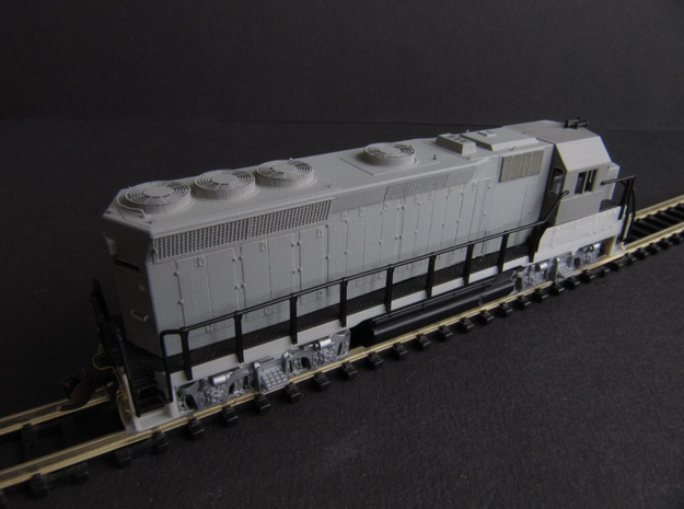 EMD 433a GP40X (N) in Smoothest Fine Detail Plastic