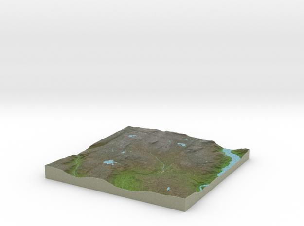 Terrafab generated model Sat Jul 04 2015 12:51:26  in Full Color Sandstone