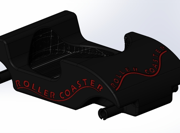 Roller Coaster Body Opt 2 3d printed