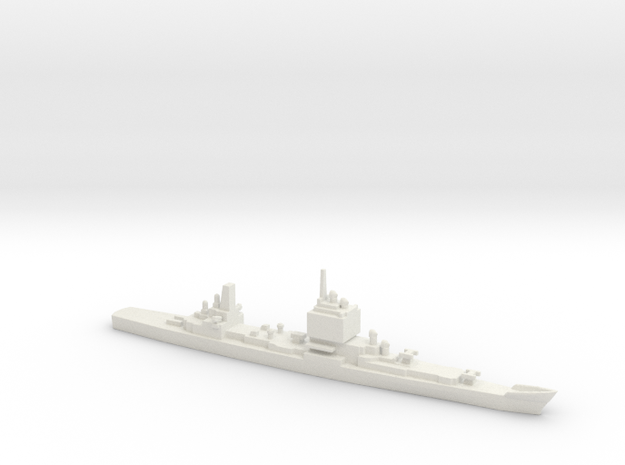 USS Long Beach, Final Layout, 1/2400