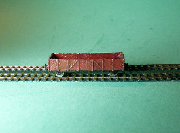 Gondola / Mittelbordwagen Set of 4 1/285 6mm 3d printed