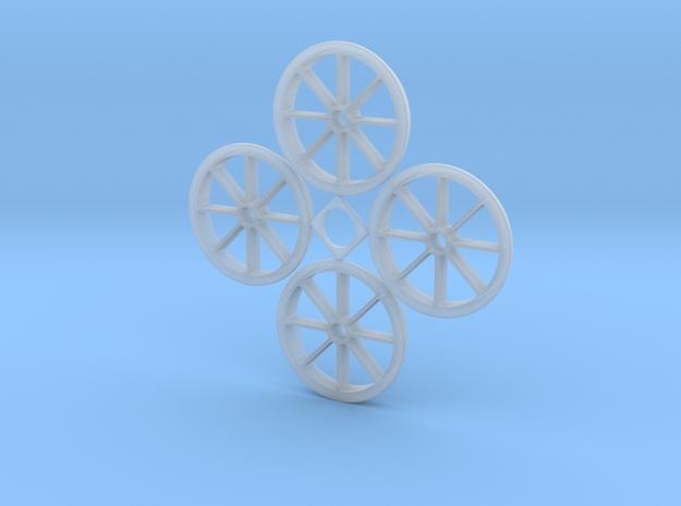 1:32 Hawaiian Cane Car Wheels in Smooth Fine Detail Plastic