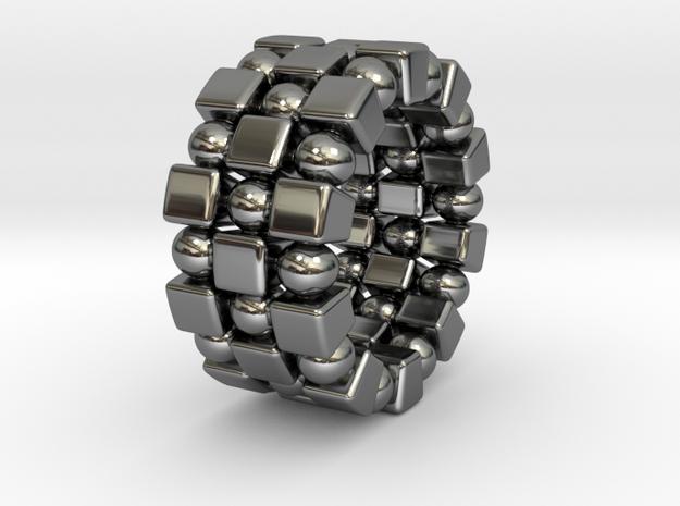 Claudette T. - Ring - US 9 - 19 mm inside diameter 3d printed
