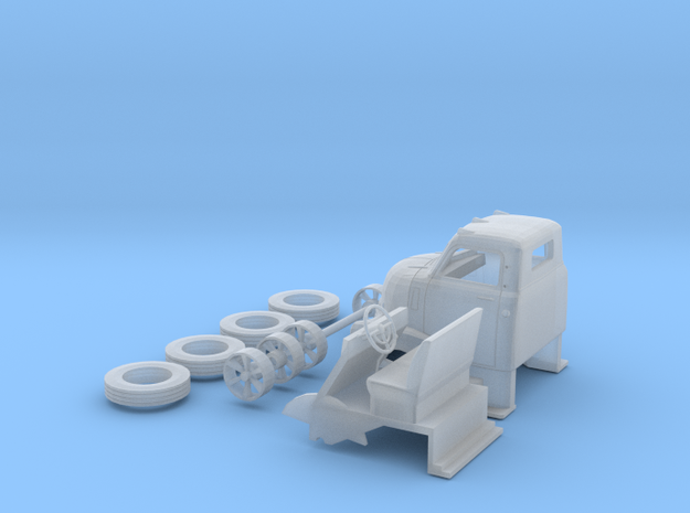 1949 Chevy Cab Over, Ready For Shapeways in Smooth Fine Detail Plastic