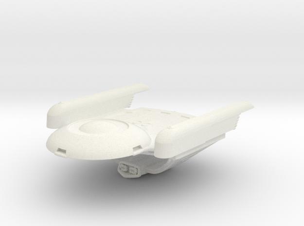 Jester in White Natural Versatile Plastic