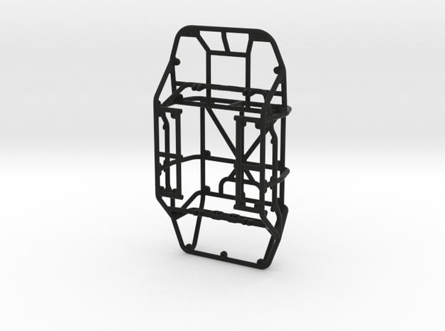 Scorpion - 4D 1/24th scale rock crawler chassis in Black Natural Versatile Plastic
