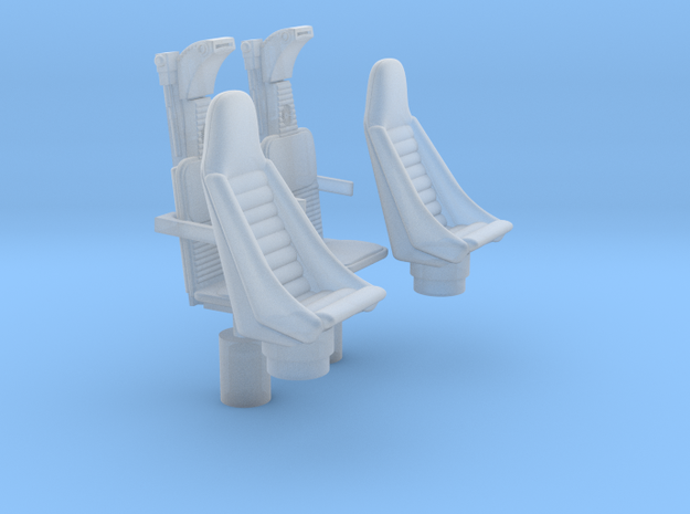 YT1300 HSBRO CABIN COCKPIT SEATS in Smooth Fine Detail Plastic
