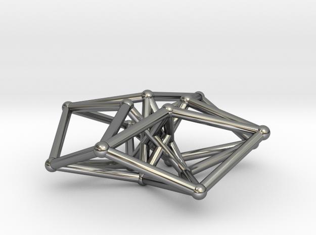 Toroidal Hypercube 35mm 1.5mm Time Traveller 3d printed