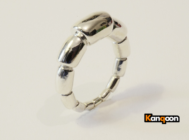 Magdalena - Ring in Polished Silver: 9.75 / 60.875