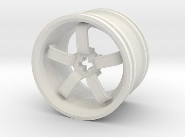 Wheel Design VIII in White Strong & Flexible
