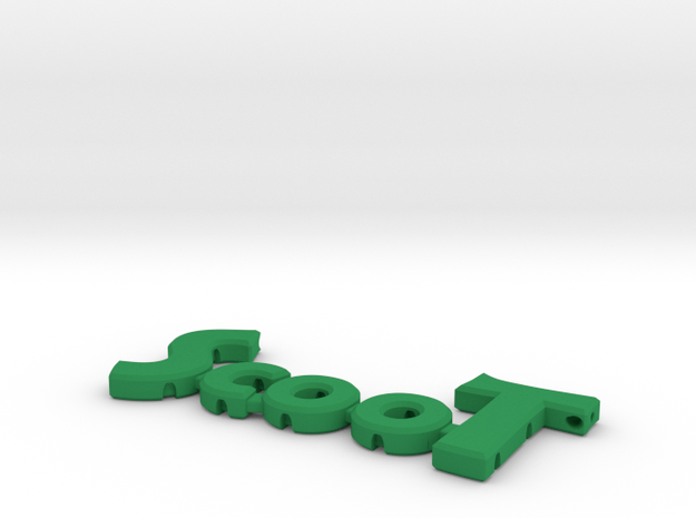 """""""ScooT"""" nock depot / arrow spinner in Green Strong & Flexible Polished"""