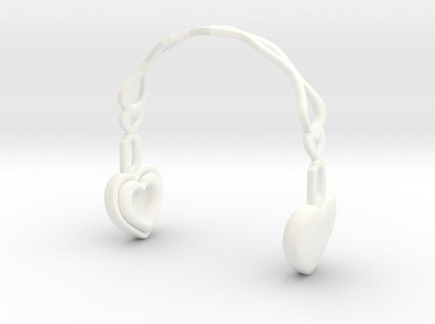 Headphones Heart Version: BJD Doll MSD fourth size
