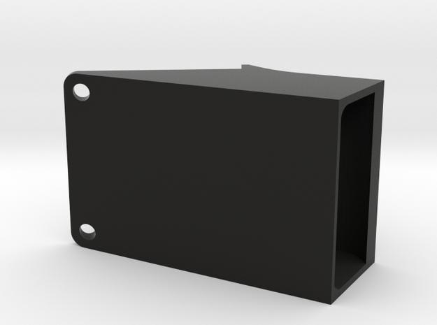 Right Cooler 25mm in Black Natural Versatile Plastic