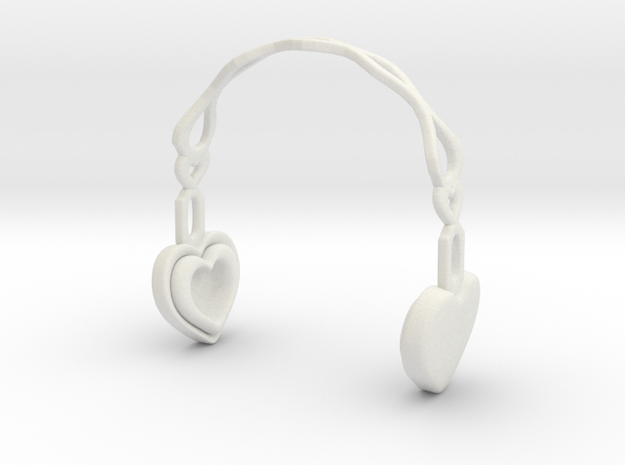 Headphones Heart Version: BJD Doll YOSD 1/6