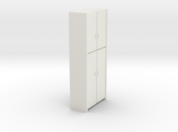 A 006 - 1 Schrank 1:50 in White Natural Versatile Plastic