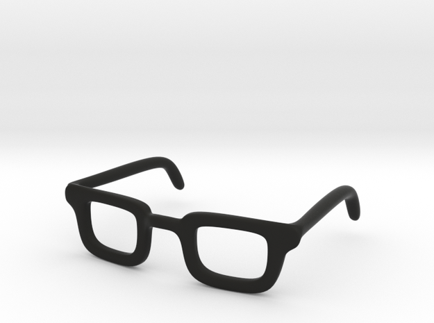 Eye Glasses Frame Rectangle: FOR MSD BJD doll size