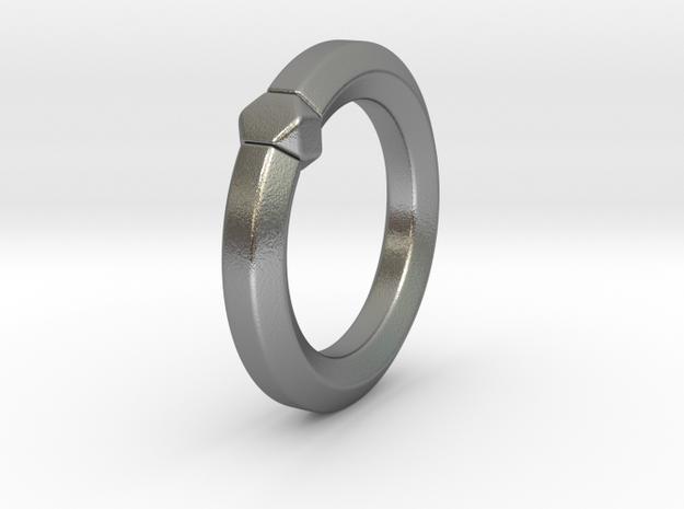 Hea - Ring - US 6¾ - 17.12 mm 3d printed